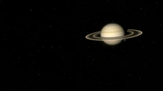 saturn and titan - titan moon stock videos & royalty-free footage
