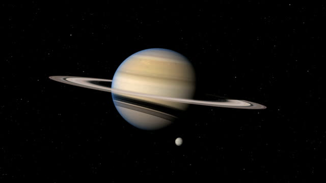 saturn's rings - solar system stock videos & royalty-free footage
