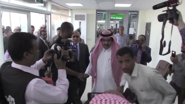 Saudi Ambassador to Yemen Mohammed alJaber arrived in Aden on Thursday three years after leaving the country as rebels took the capital Sanaa