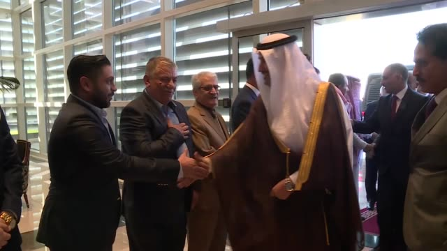 saudi arabia launched its first direct flights from jeddah to the city of erbil in northern iraq's kurdish region on october 01, 2018. director of... - jiddah bildbanksvideor och videomaterial från bakom kulisserna