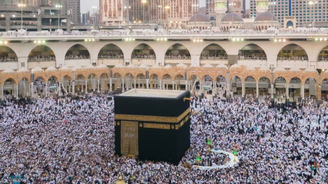 サウジアラビア メッカ - 巡礼点の映像素材/bロール
