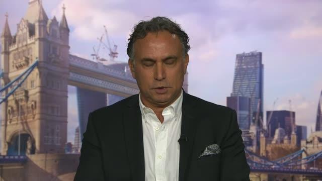 Saudi Arabia tells Qatar to close Al Jazeera television network ENGLAND London Marwan Bishara 2WAY interview from Qatar SOT