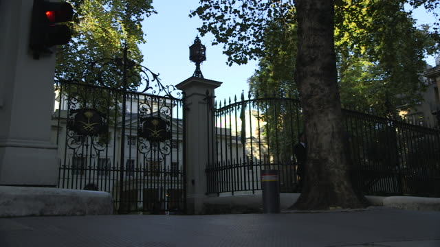 Saudi Arabian embassy building exteriors in London