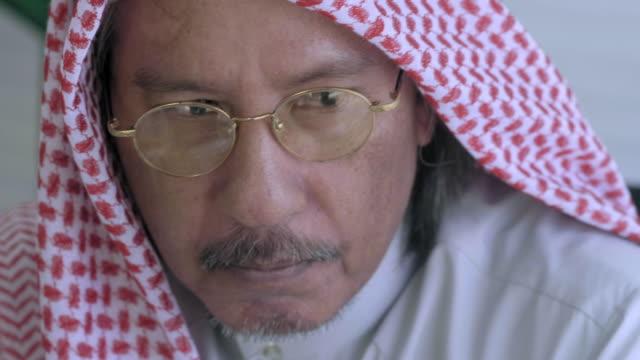 saudi arabian entrepreneur - grandfather stock videos & royalty-free footage