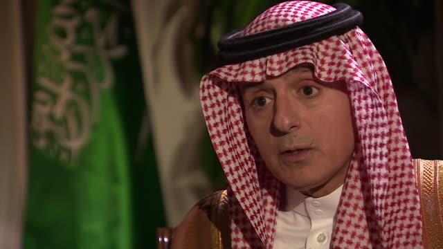 Saudi Arabian Foreign Minister Adel AlJubeir saying Crown Prince Mohammad bin Salman is not involved in the murder of journalist Jamal Khashoggi