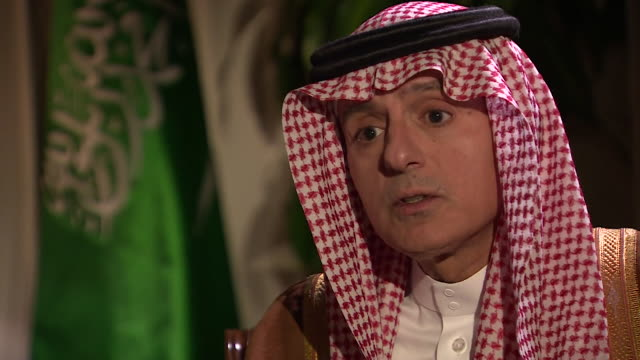 Saudi Arabian Foreign Minister Adel AlJubeir saying it is 'ridiculous and unacceptable' for 'individuals to be calling for the removal of our...
