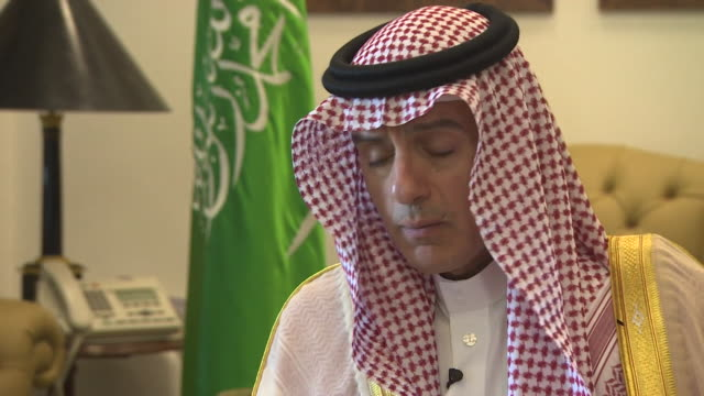 Saudi Arabian Foreign Minister Adel AlJubeir saying the Saudi government disagrees with the Yemen civilian casualty statistics provided by the UN and...