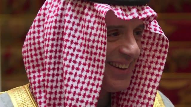 Saudi Arabia's foreign minister accuses Hezbollah which Riyadh blames for the shock resignation of Lebanese premier Saad Hariri of holding Lebanon...