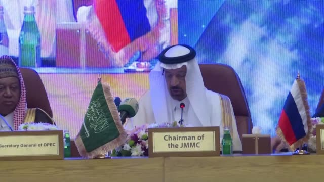 saudi arabia's sacked energy minister khalid alfalih who was replaced by king salman's son prince abdulaziz bin salman in a major shakeup as the opec... - fossil fuel stock videos & royalty-free footage