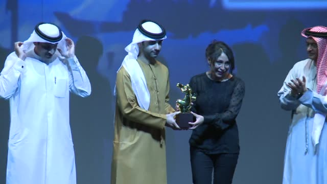 Saudi movie Wadjda a tale of a girls quest to own a bicycle in the kingdom where women are deprived of many rights won the best Arabic feature film...