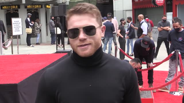 saul 'canelo' alvarez is the latest star to receive one of hollywood's oldest honours. the world champion boxer placed his hands and feet in cement... - tcl chinese theatre stock videos & royalty-free footage