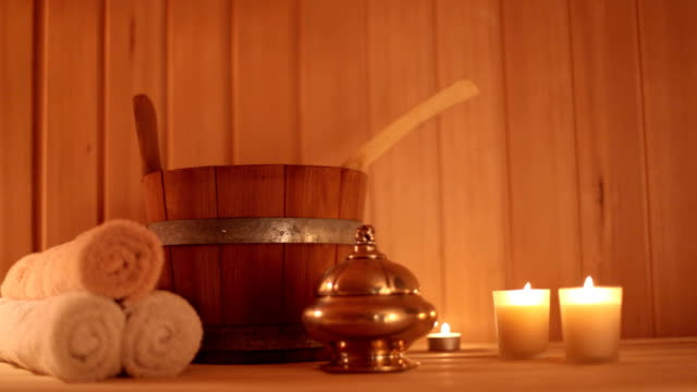 sauna 2 - spa treatment stock videos & royalty-free footage