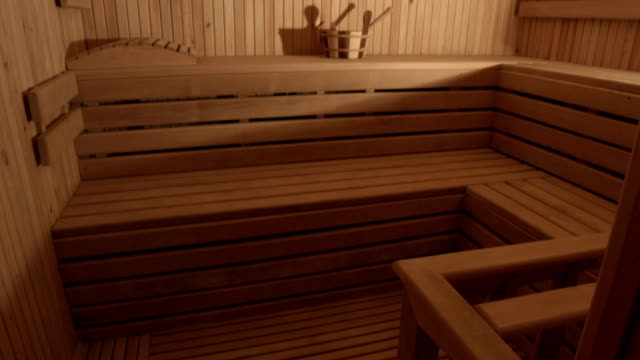 sauna - sauna stock videos and b-roll footage