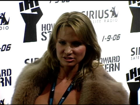 savanna samson at the howard stern last day live event arrivals and inside at hard rock cafe in new york new york on december 16 2005 - hard rock cafe stock videos & royalty-free footage