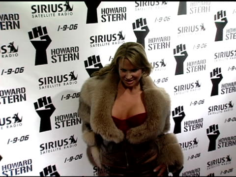 savanna samson at the howard stern last day live event arrivals and inside at hard rock cafe in new york new york on december 16 2005 - last day stock videos & royalty-free footage