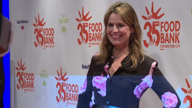 Savannah Guthrie at 2018 Food Bank For New York City's Can Do Awards Dinner at Cipriani Wall Street on April 17 2018 in New York City