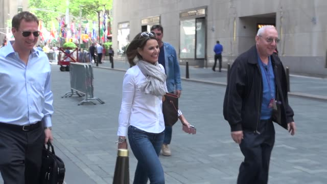 savannah guthrie at the 'today' show studio in new york, ny, on 6/5/13. - savannah guthrie stock videos & royalty-free footage