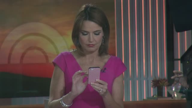 savannah guthrie at the 'today' show studio in new york, ny, on 9/16/13. - savannah guthrie stock videos & royalty-free footage
