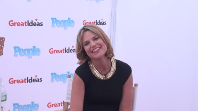savannah guthrie outside of the today show in rockefeller center - celebrity sightings in new york on june 25, 2014 in new york city. - savannah guthrie stock videos & royalty-free footage