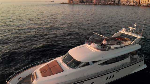 save a little, than splurge a lot - luxury yacht - yacht stock videos & royalty-free footage