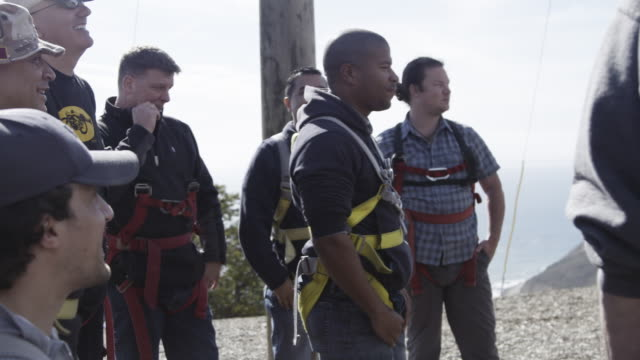save a warrior program helps veterans with ptsd transition from military to civilian life through therapeutic exercises and challenges - post traumatic stress disorder stock videos and b-roll footage