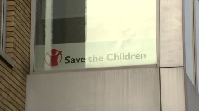 Save the Children halts bids for public funds after sexual harassment scandal R210218006 / 2122018 London Farringdon St John's Lane EXT Various of...