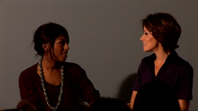 save the children launch 'no child born to die' campaign natasha kaplinsky interviews alexandra burke about her experience with save the children in... - save the children stock videos & royalty-free footage