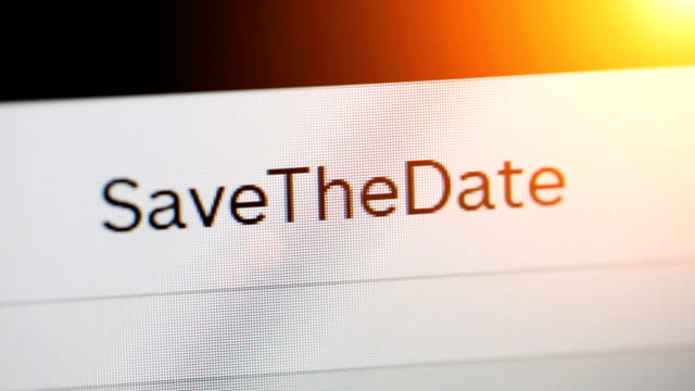 save the date - web browser stock videos & royalty-free footage