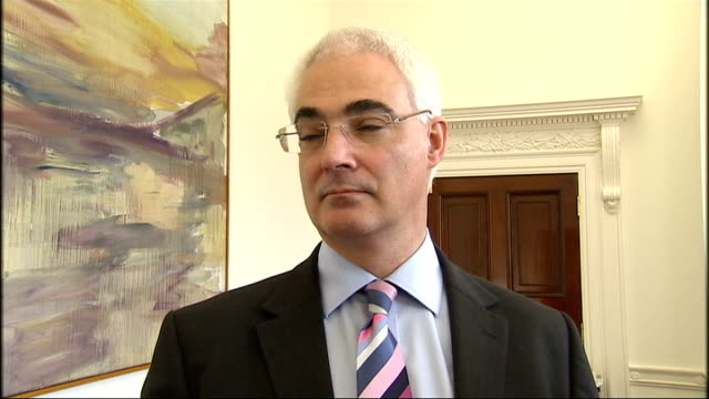 savers want more help following latest interest rate cut england london int alistair darling mp interview sot there are many people who depend on... - alistair darling stock videos & royalty-free footage