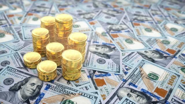 お金とゴールドを節約 - 4k解像度 - 関税点の映像素材/bロール