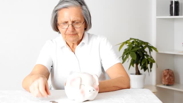 Saving senior woman