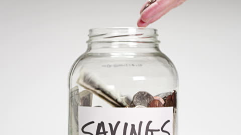 savings account - investment stock videos & royalty-free footage