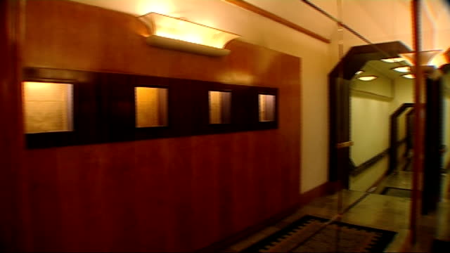 savoy hotel general views int general views of hotel interior including hotel lobby reception staff interior decoration details including... - marble wall stock videos and b-roll footage