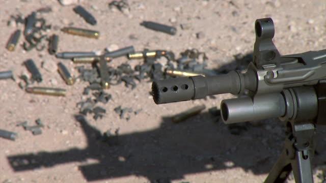 saw machine gun - rifle stock videos & royalty-free footage