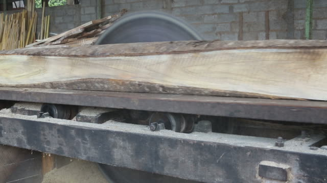 vídeos y material grabado en eventos de stock de molino de sierra - fábricas tradicionales