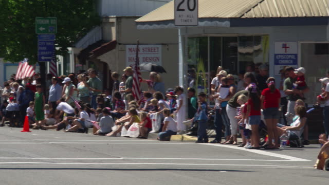 sawdust jubilee parade, riddle, or - parade stock videos and b-roll footage