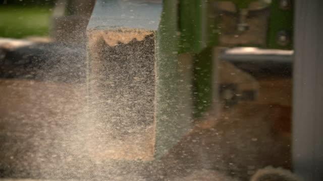 zagerij machine kappen een vertakking van de beslissingsstructuur in een houten balk