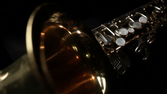 saxophone abstract - saxophone stock videos and b-roll footage