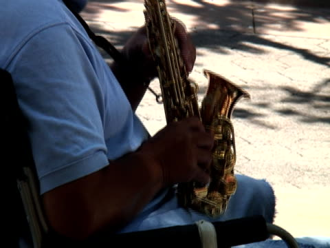 saxophone fingers - jazz music stock videos and b-roll footage