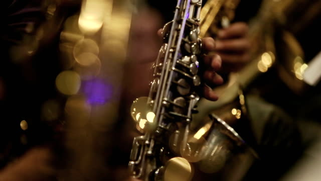 saxophone players - performance group stock videos and b-roll footage
