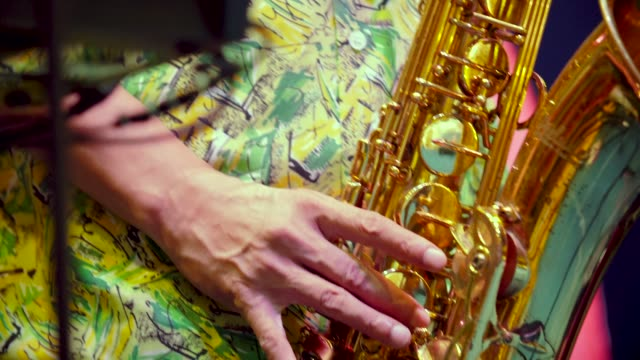 saxophone players - brass band stock videos & royalty-free footage