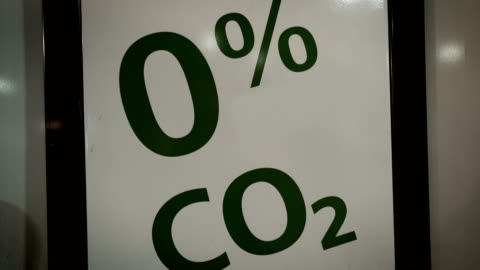 say no! to co2!safe the planet! - fumes stock videos & royalty-free footage
