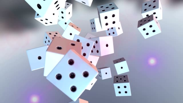dice roll - cube stock videos & royalty-free footage