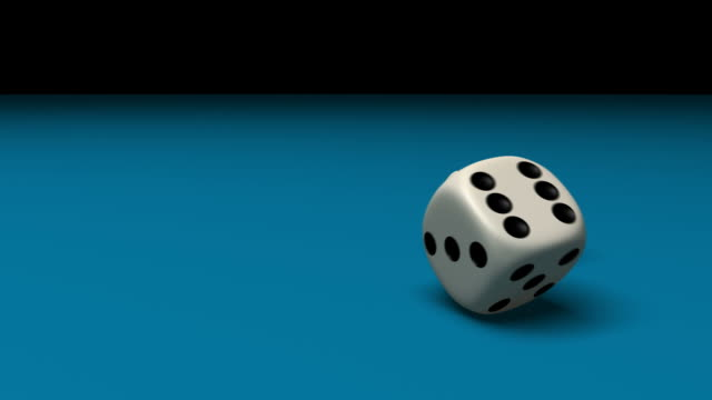 dice rolling - rolling stock videos & royalty-free footage