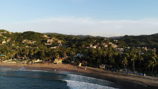 sayulita - coastline stock videos & royalty-free footage