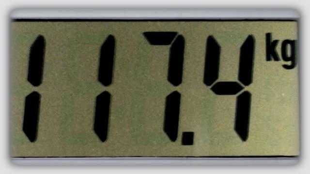 scale (スケール) - ダイエット点の映像素材/bロール