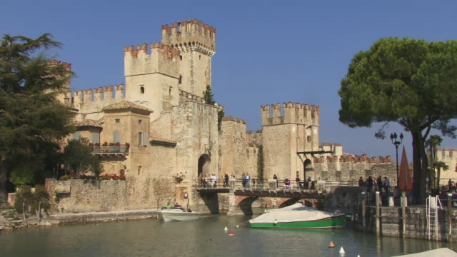 WS, Scaliger Castle, Sirmione, Lombardy, Italy