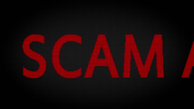 scam alert - alertness stock videos & royalty-free footage