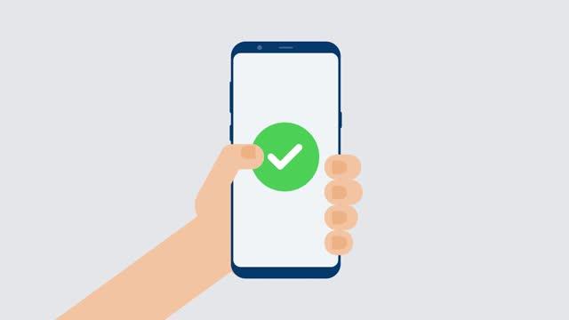 vidéos et rushes de numérisez le code qr au téléphone mobile. technologie électronique, numérique, code à barres. illustration de stock - codage et codification