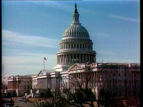 vídeos y material grabado en eventos de stock de scandal extwashington gv capitol hill tx16791gv treasury dept itn - capitol hill